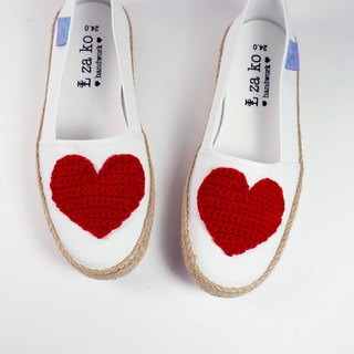 Cotton canvas hand shoes big love weaving