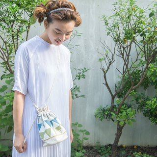 Mine Hong Kong / Korean Cotton print / Shoulder bag  crossbodies  bucket bag