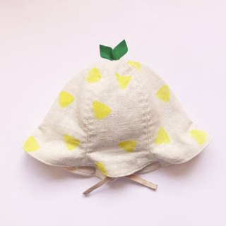 Grow Up! Leaf Hat for Baby & Toddler / ONIGIRI (Rice Ball)
