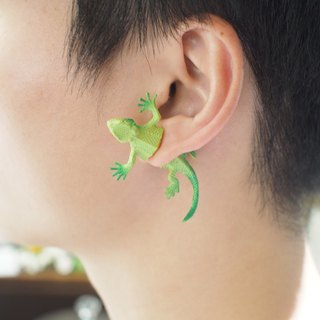 Taiwan original lizard earrings Magic Double M