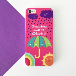 Luxury Pink Umbrella Print Soft / Hard Case for iPhone X,  iPhone 8,  iPhone 8 Plus, iPhone 7 case, iPhone 7 Plus case, iPhone 6/6S, iPhone 6/6S Plus, Samsung Galaxy Note 7 case, Note 5 case, S7 Edge case, S7 case