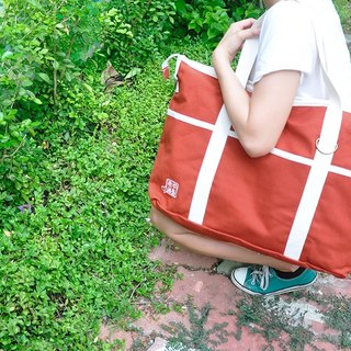purely. Travel to go! - Shoulder bag / messenger bag / canvas bag [Po color]