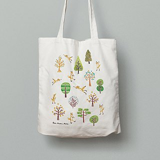 Forest Fox Series │ canvas tote bag