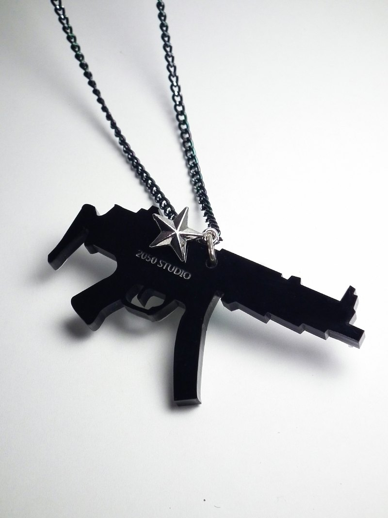 Lectra duck ▲ gun (AK47) ▲ necklace / keychain