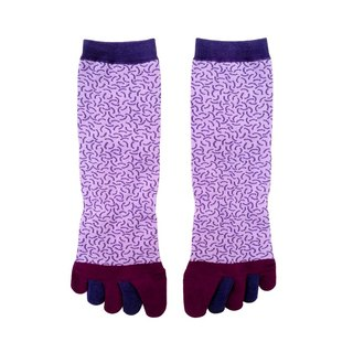 Taiwan's offshore islands of fruits and vegetables / purple / warm socks if series