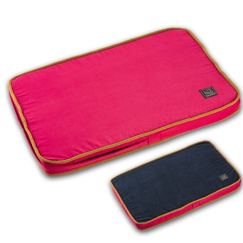 """Lifeapp"" easy to stick pet hair mattress S (red and blue) W65 x D45 x H5 cm"
