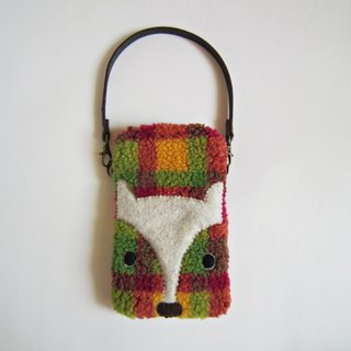 Naughty Fox cell phone bag (with carrying strap)