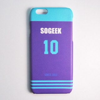 SO GEEK phone shell design brand THE JERSEY GEEK jersey back number Customized paragraph 034