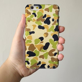 Yellow Camouflage Pattern 3D Full Wrap Phone Case, available for  iPhone 7, iPhone 7 Plus, iPhone 6s, iPhone 6s Plus, iPhone 5/5s, iPhone 5c, iPhone 4/4s, Samsung Galaxy S7, S7 Edge, S6 Edge Plus, S6, S6 Edge, S5 S4 S3  Samsung Galaxy Note 5, Note 4, Note