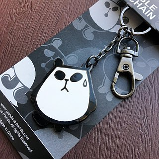 Little Cat Cat Panda-a-Panda Keyring