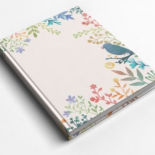 ☆ ° Rococo Strawberries WELKIN Hand Handle ☆ Handbook / Notebook / Hand / Diary - Ink Spread