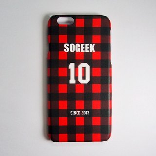 SO GEEK phone shell design brand THE JERSEY GEEK jersey back number Customized paragraph 040