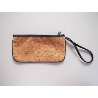 naturaism Cork Wristlet Clutch Purse Bag Pouch handbag evening