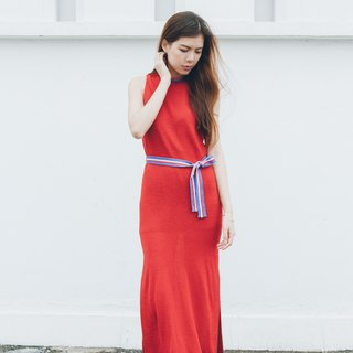<Limited time offer until July 13> Knit straight tailored dress - Hong Kong original brand Lapeewee