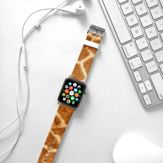 Apple Watch Series 1  , Series 2, Series 3 - Giraffe Pattern Watch Strap Band for Apple Watch / Apple Watch Sport - 38 mm / 42 mm avilable