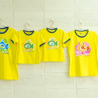 Submarine Adventure (Kids)】 Parents / Kids / Short Sleeve T-shirt