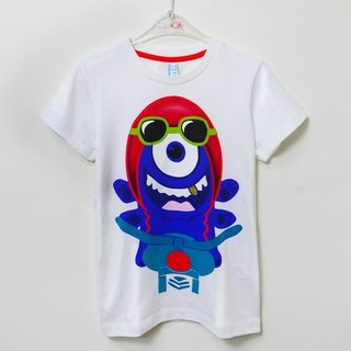 Short-sleeved T-shirt cartoon characters