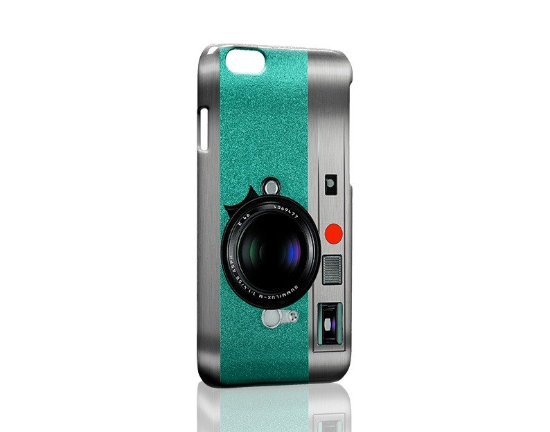 Green retro camera custom Samsung S5 S6 S7 note4 note5 iPhone 5 5s 6 6s 6 plus 7 7 plus ASUS HTC m9 Sony LG g4 g5 v10 phone shell mobile phone sets phone shell phonecase