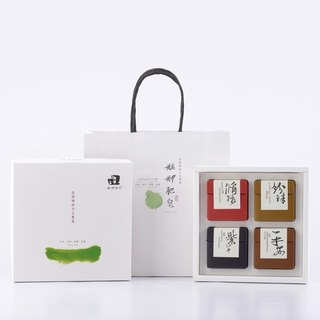 【Monga soap】 Four Seasons gift box - recycled soap + pearl soap + purple soap + safe soap - gifts / gifts / gifts / hand soap gift box / year gift box