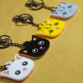 Mao children around / American Shorthair / acrylic key ring