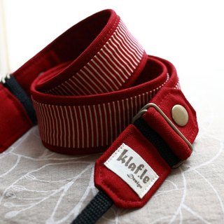 [Ke Leifu music] Detachable Hand Strap Custom / color bar knock - red - for monocular / micro monocular