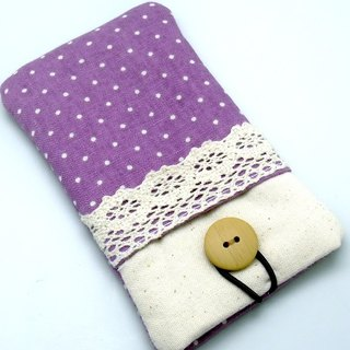 iPhone sleeve, iPhone pouch, Samsung Galaxy S8, Galaxy Note 8, cell phone, ipod classic touch sleeve (P-43)