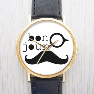 Hello French - Ladies Watch / Men's Watch / Neutral / Accessories [Special U Design]