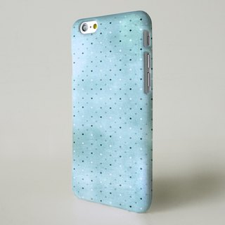 Blue polka dots 3D Full Wrap Phone Case, available for  iPhone 7, iPhone 7 Plus, iPhone 6s, iPhone 6s Plus, iPhone 5/5s, iPhone 5c, iPhone 4/4s, Samsung Galaxy S7, S7 Edge, S6 Edge Plus, S6, S6 Edge, S5 S4 S3  Samsung Galaxy Note 5, Note 4, Note 3,  Note 2