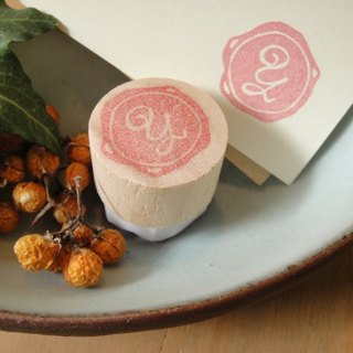 Hand-made rubber stamp - wax seal chapter (resolution 1 Y)