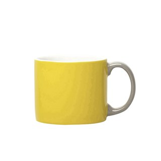 Jansen + co-style color cup - yellow + gray