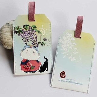 Sets of cards: Seasons woman Series - Wisteria