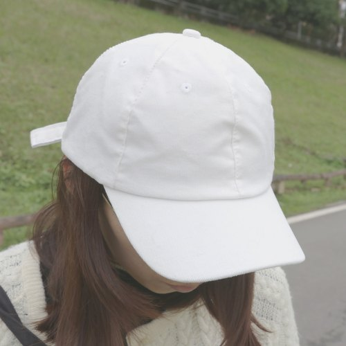 MaryWil Baseball Caps-White