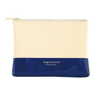 Japan【LABCLIP】Prendre Mini Pouch Storage Bag (Small-Zipper) Dark Blue