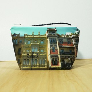 [Good] portable large travel cosmetic bag ◆ ◇ ◆ ◆ ◇ ◆ the streets of Seville