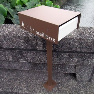 All stainless steel transfer cover the mailbox, a variety of color to provide reference, with upright,