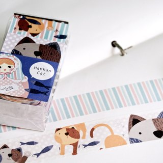 Washi Paper Tape /Han Han cat