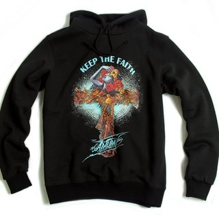 Arturn Keep The Faith Sweatshirt Faith Cross cap Tee