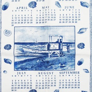 2006 American Early Cloth Calendar Beach