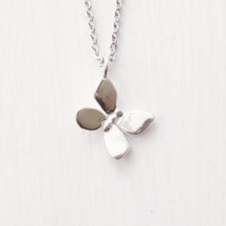 Butterfly dream handmade sterling silver necklace