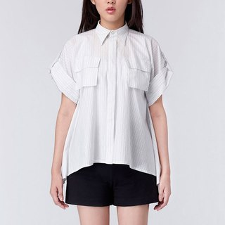 C70 Cynthia Shirt umbrella striped shirt