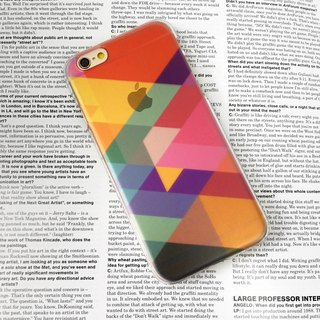 Colorful Geometric Pattern Print Soft / Hard Case for iPhone X,  iPhone 8,  iPhone 8 Plus, iPhone 7,  iPhone 7 Plus iPhone 6/6s,  iPhone 6/6s Plus,