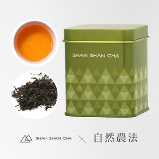 [Mountains came to tea] Natural Agricultural Method Honey Black Tea (30g/can)