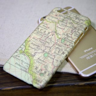 iPhone 6 Case - Rome Map