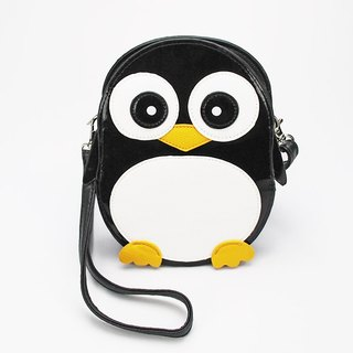 Madagascar Eye Penguin Childlike Style Crossbody Bag/Animal Bag - Cool Music Village