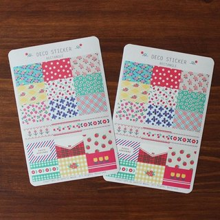 GentleWave-Floral Lifestyle Sticker Set (2 in) - Rectangle Sticker, GTW10315