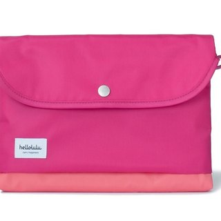 Hellolulu Tess-iPad Lightweight Tote Bag - Raspberry Red