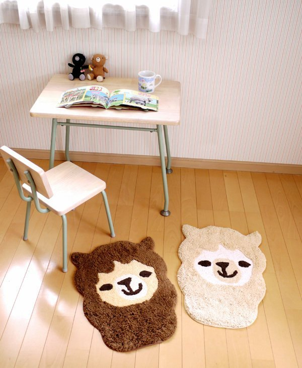 Pre-ordered animal head shell series --- alpaca mat