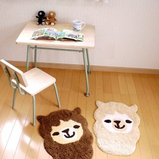 Pre-order animal head shell series --- Alpaca mats