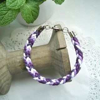 Three-dimensional bracelet - Lavender - 1