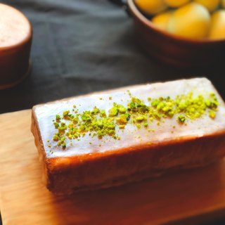 Lemon pistachio weekend cake Lemon Pistachio Cake